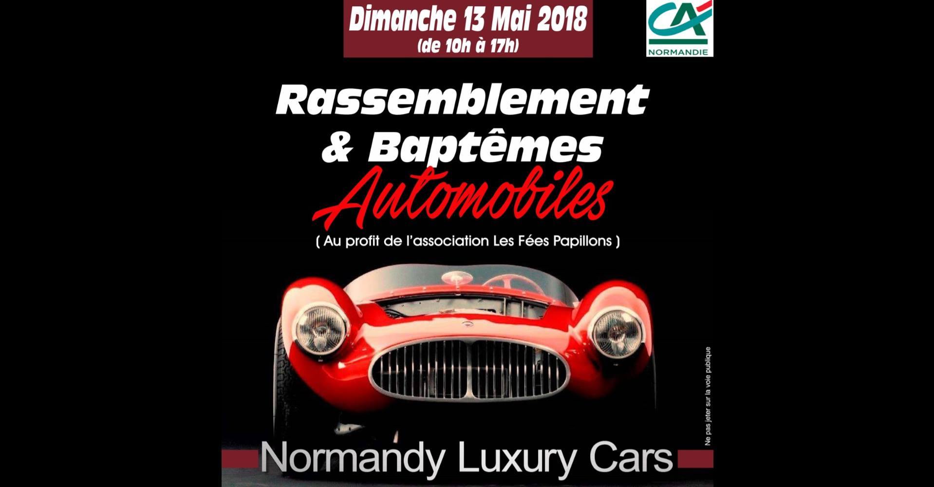 Rendez vous le 13 mai chez Normandy Luxury Cars!