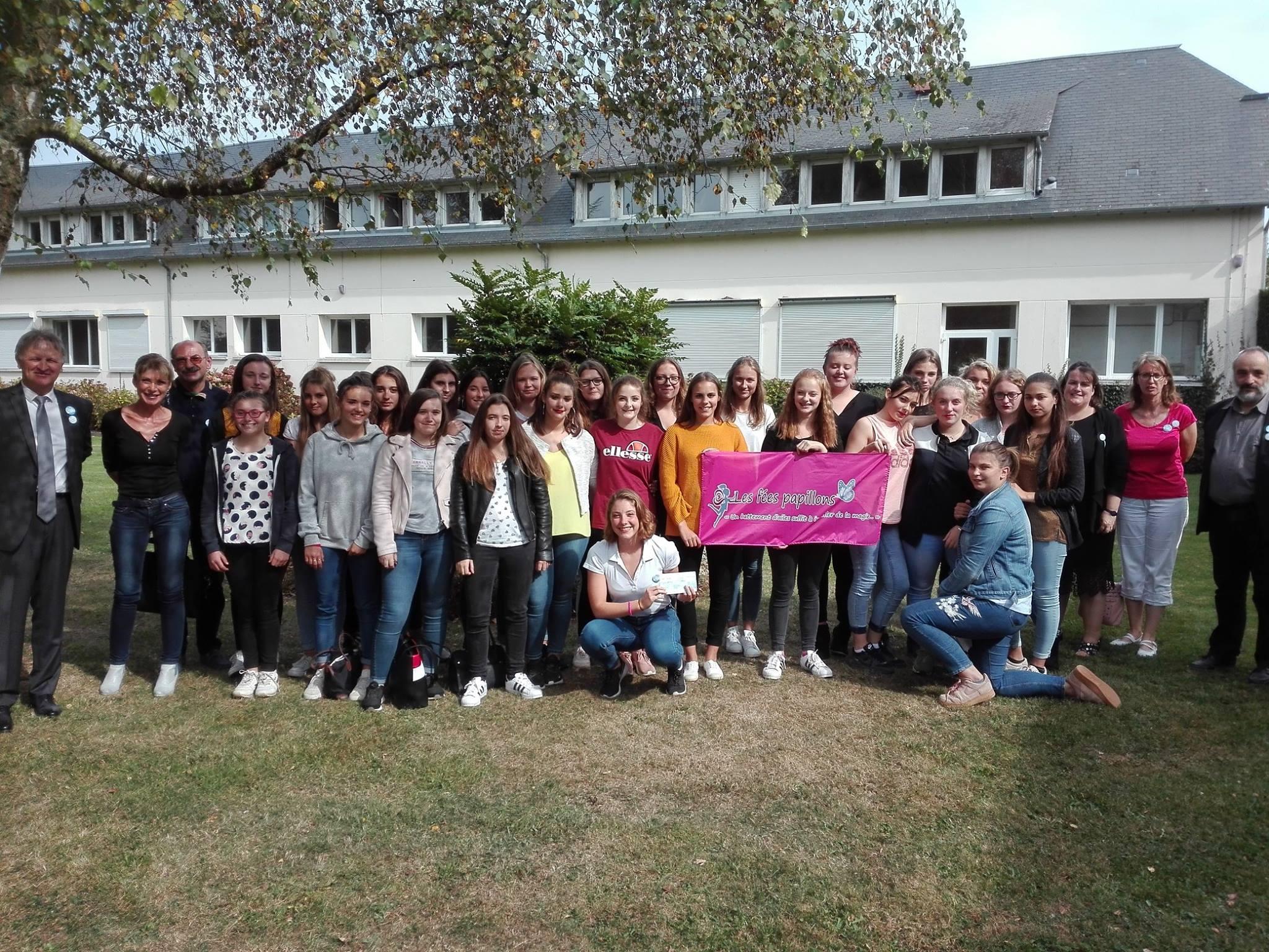 Merci les filles de la MFR !